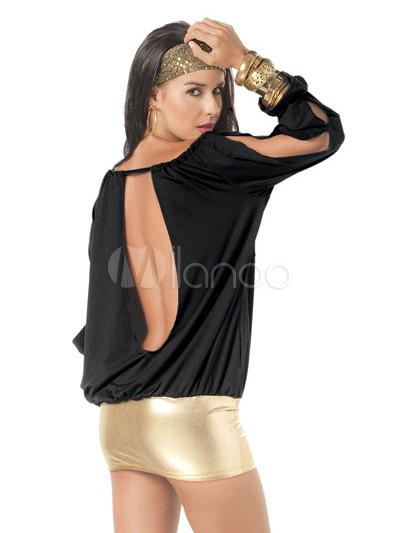Платье с длинными рукавами - GlamourBabe.