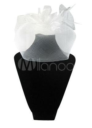 Elegant White Net Wedding Bridal Veil