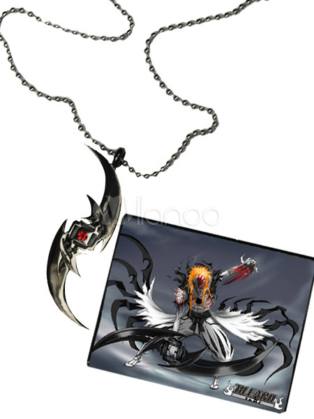 bleach stainless steel cosplay necklace. Black Bedroom Furniture Sets. Home Design Ideas