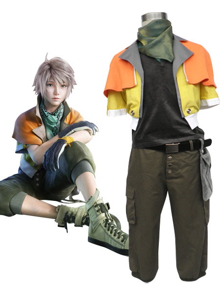 Final Fantasy XIII Hope Estheim Cosplay Costume