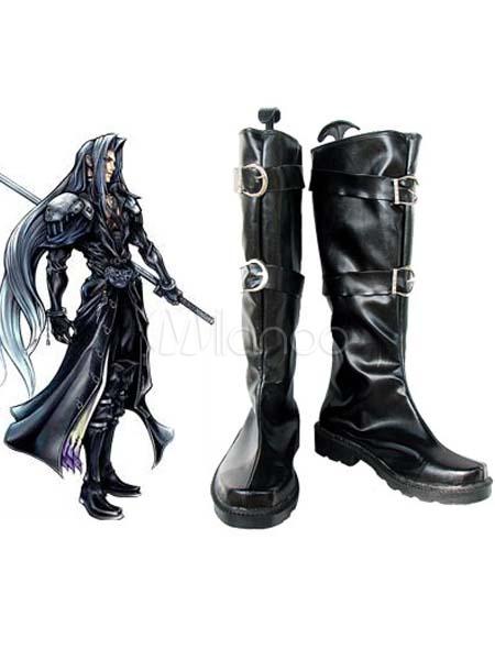 Final fantasy sephiroth cosplay shoes milanoo com