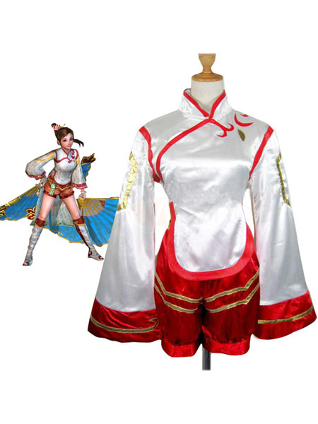 Dynasty Warriors 4 Xiao Qiao Cosplay Costume