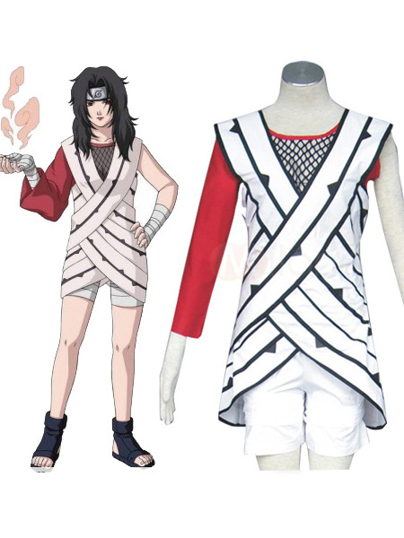 Naruto Yuuhi Kurenai Cosplay Costume