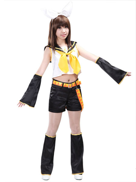Vocaloid Kagamine Rin Cosplay Costumes - Milanoo.com