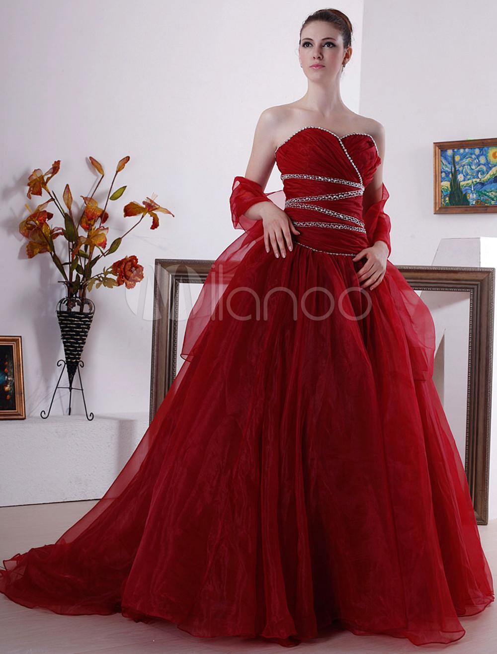 red hot red wedding dresses. Black Bedroom Furniture Sets. Home Design Ideas