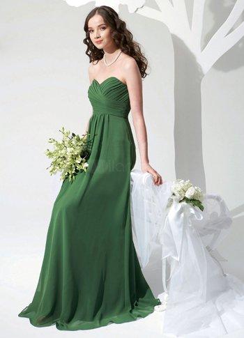 Элегантное платье подружки невесты.