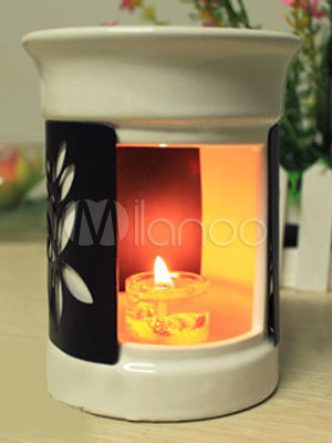 Charming 12*10cm Ceram Candle Effusion Lamp
