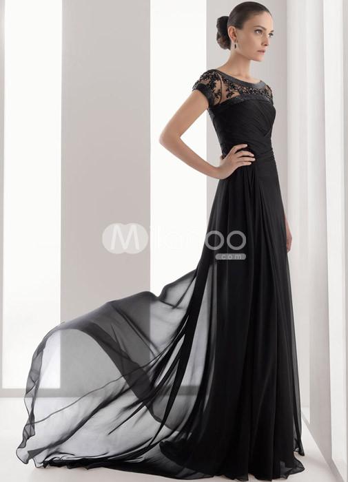 Black dress hit the floor full
