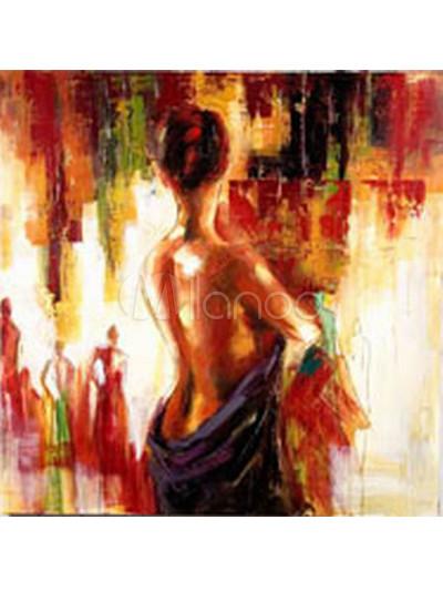 Gorgeous 60 60cm 1pcs Canvas Girl Body Oil Painting