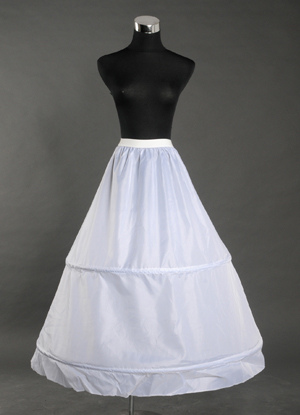 White 90cm Lining Bridal Wedding Petticoat $14.99 AT vintagedancer.com
