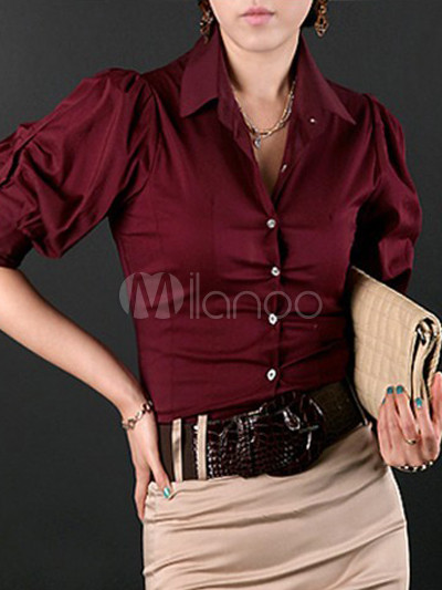 Burgundy Shirts For Womens | Gommap Blog