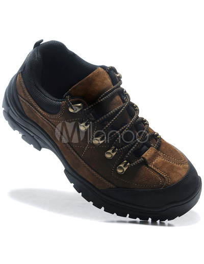 Luxurious Brown Wearable Breathable Quality Cowhide Mens Athletic Shoes