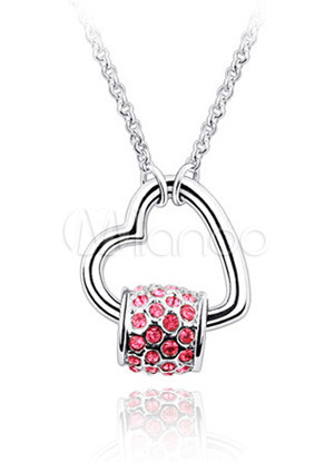 ����� ����� ����� ������� ����� Gorgeous-Red-Swarovski-Alloy-Womens-Fashion-Necklace-65229-1.jpg