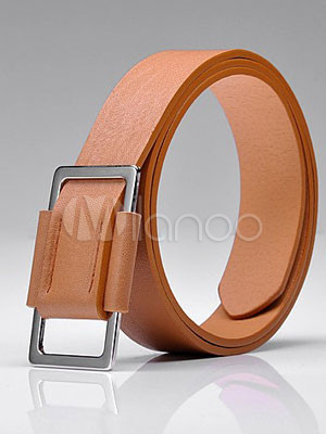 Gorgeous Brown PU Belt For Men