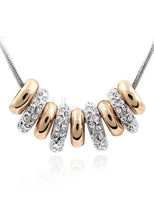 ����� ����� ����� ������� ����� Magical-Golden-And-Silver-Swarovski-Womens-Necklace-72292-1.jpg