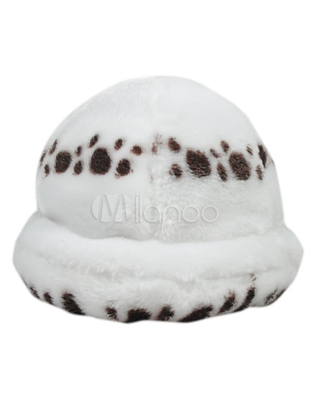 One Piece Trafalgar Law Cosplay Hat Plush