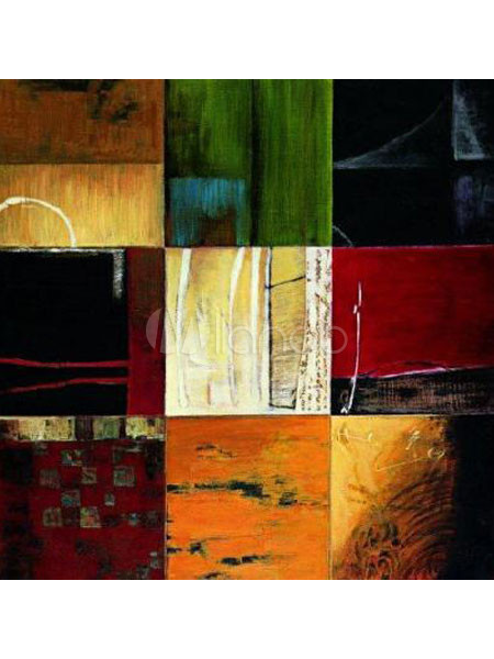 Glamorouscm montage canvas handwork abstract oil painting 74502 - Peinture a l huile abstraite ...