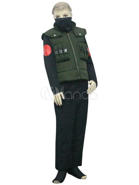 Deep black pussy uniform military