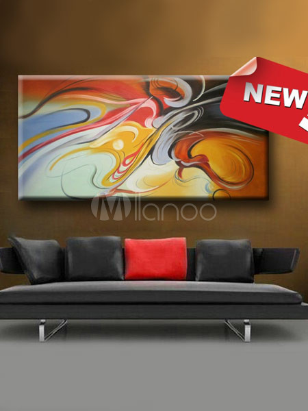 60*120cm Quality Canvas Glamour Abstract Oil Painting