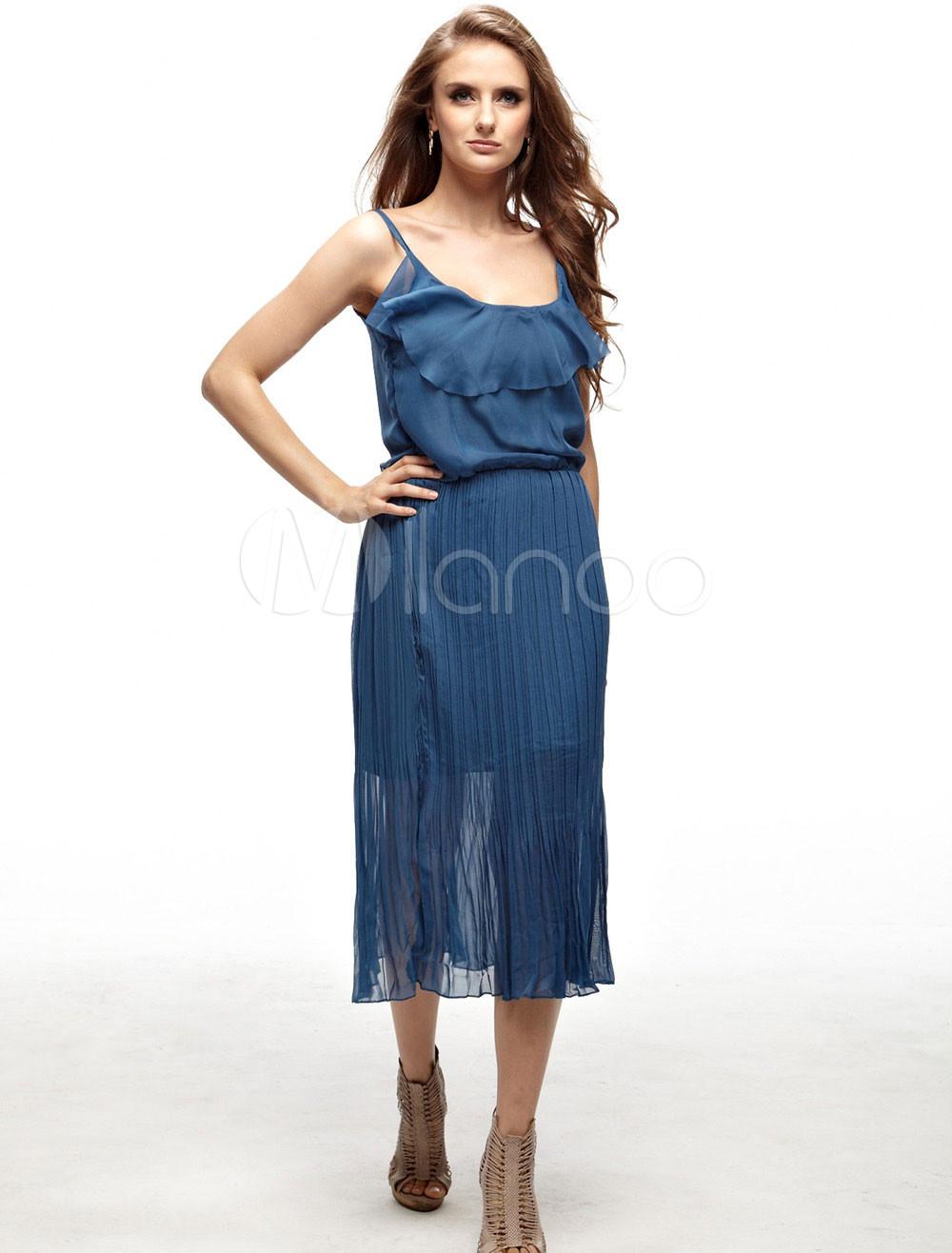 Элегантное летнее платье 3