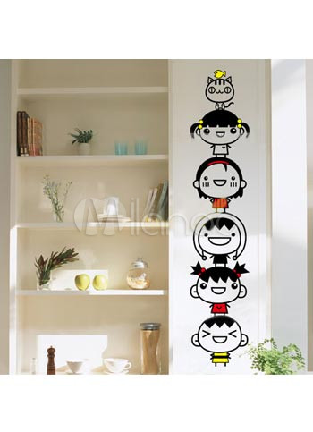 Baby Clothing Wall  on Lovely Baby 50 110cm Pvc Removable Wall Decor Stickers   Milanoo Com