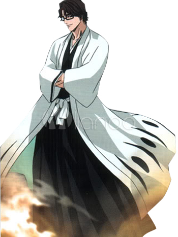 Bleach aizen sousuke halloween cosplay costume 5th ision captain
