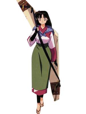 Inuyasha sango cosplay costume casual wear milanoo com