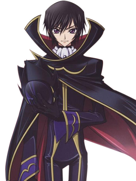 Code geass halloween cosplay costume milanoo com