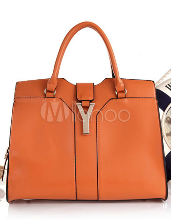 Popular PU Leather Women's Tote Handbag