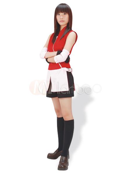 Naruto Shippuden Haruno Sakura Cosplay Costume