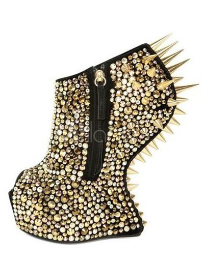 Glitter Wedge Shoes Wedge Shoes-no.1 · Glitter