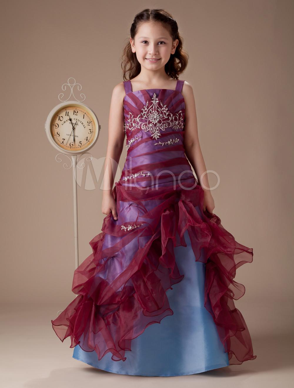 Little Girl Floor Length Dress