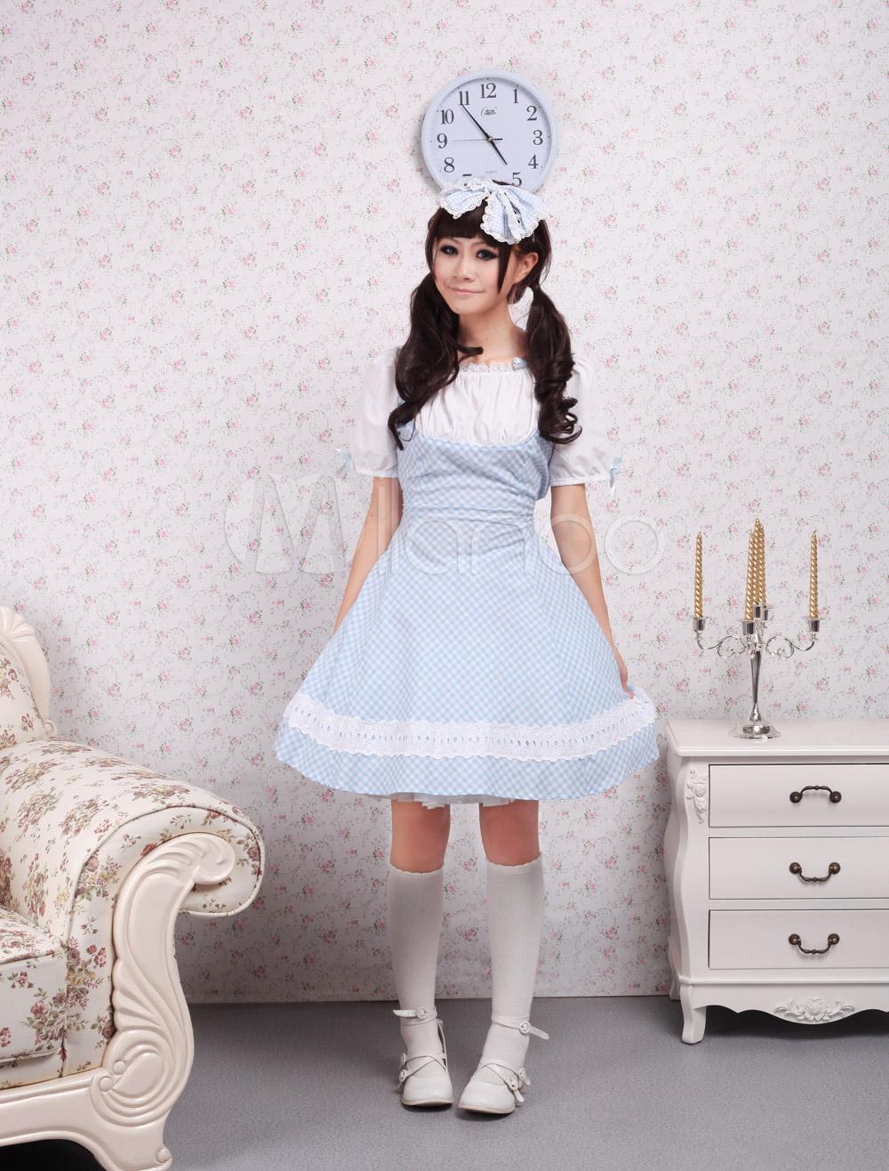 Японка в синим платье и японец 7 фотография