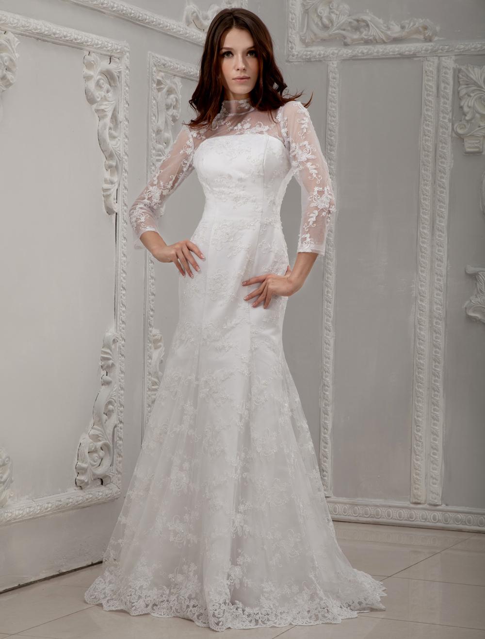 1940s Wedding Dresses Long