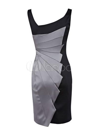Modern Western Gray Sleeveless Acetate Fiber Polyester Womens ...