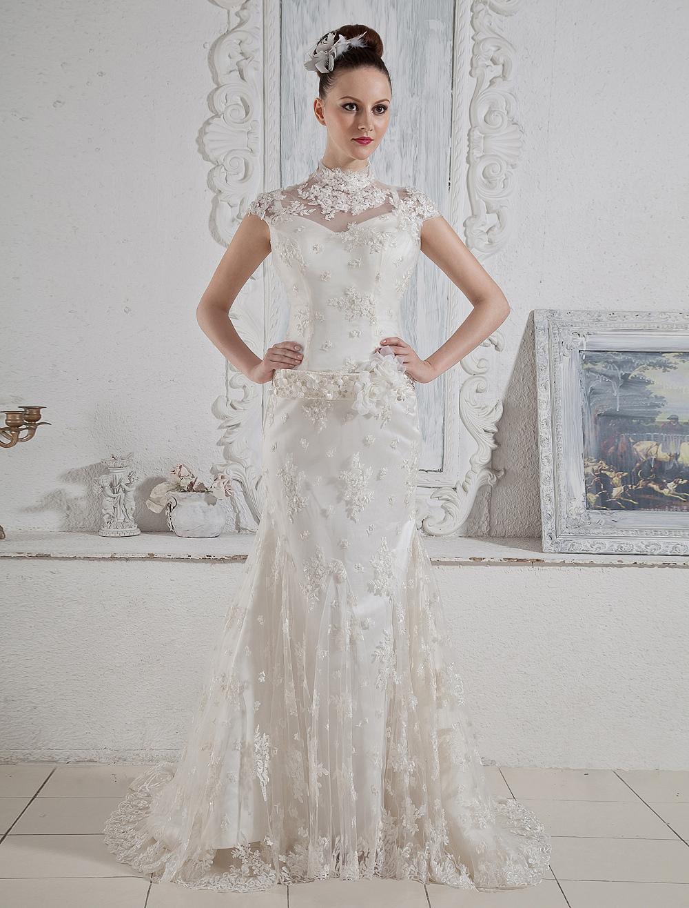 Cheap Wholesale Trumpet Mermaid Wedding DressesBridal Gowns Online
