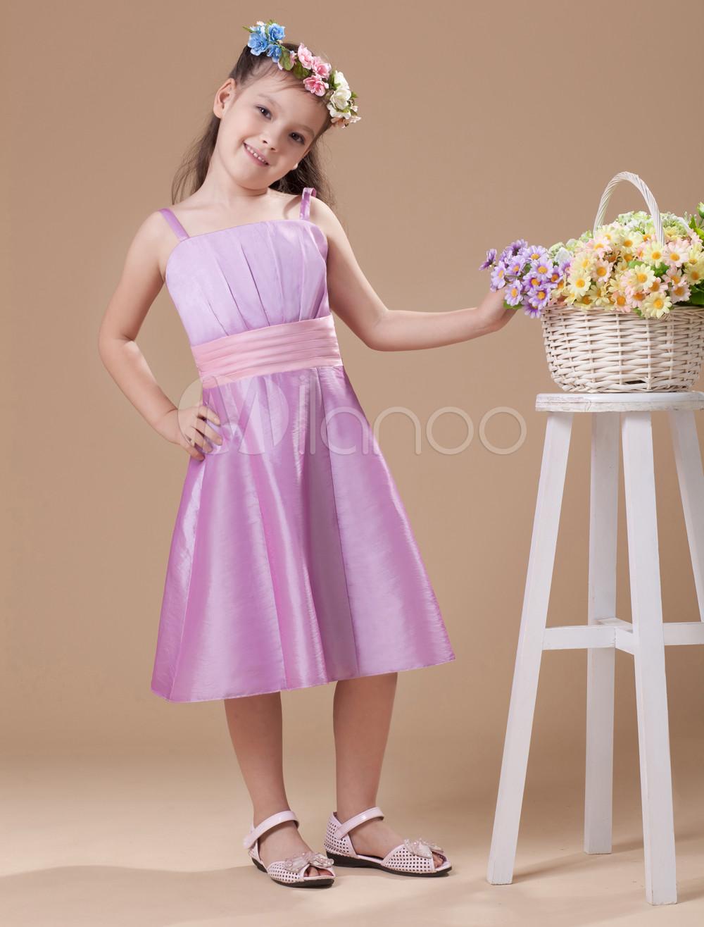 s es festkleid f r m dchen in lavender lila. Black Bedroom Furniture Sets. Home Design Ideas