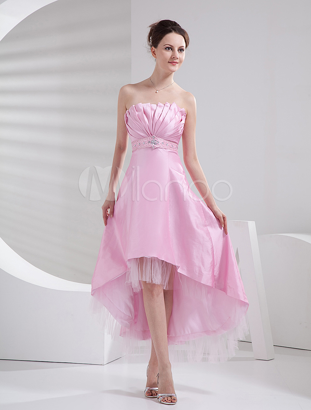 Платье с асимметричным подолом выкройка 6