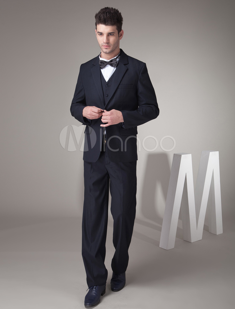 Navy Blue Wedding Tuxedo