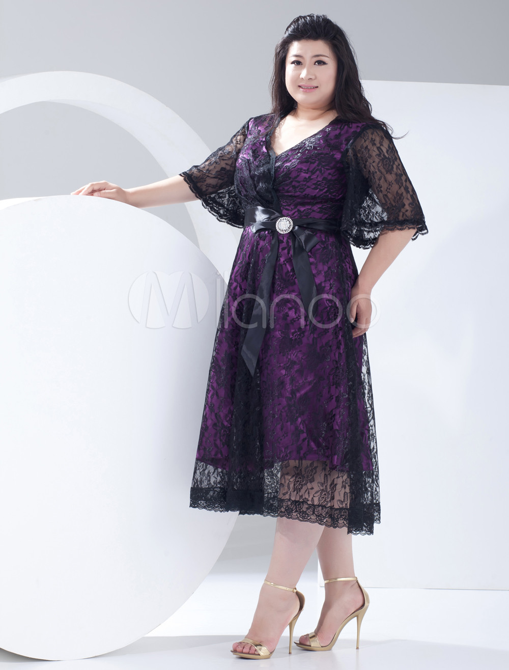 Plus Size Vintage Style Cocktail Dresses - Evening Wear