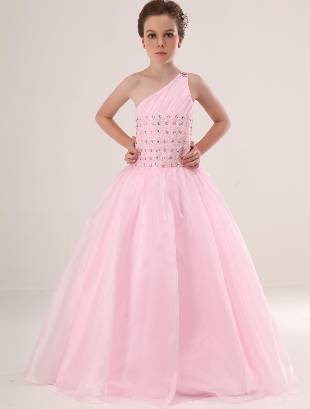 Robe de soiree pour petite fille milanoo for Petites robes pas chères