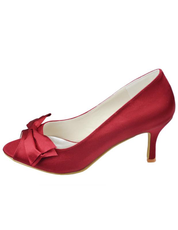 Maroon Wedding Shoes 029 - Maroon Wedding Shoes