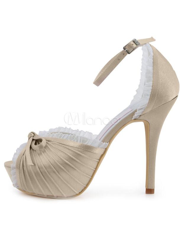 Ankle Strap Wedding Shoes Photo Album - Weddings Pro