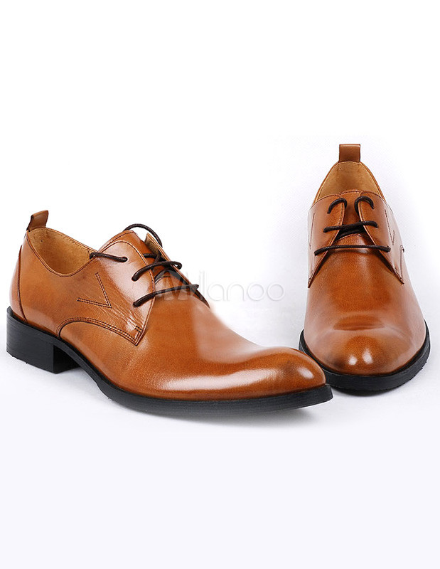 Almond Toe Mens Shoes