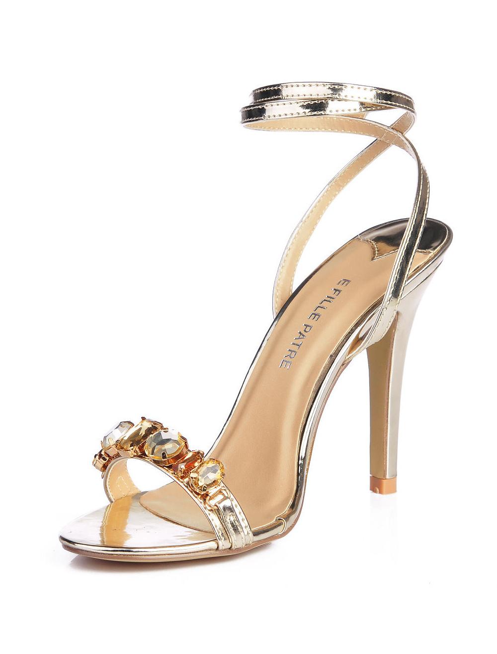 Open Toe PU Sandals