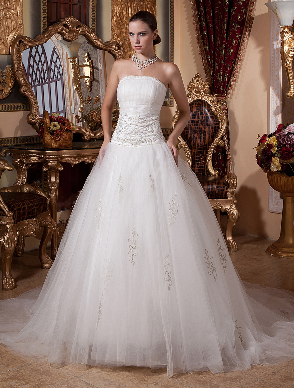 Inexpensive Christmas Wedding Gowns