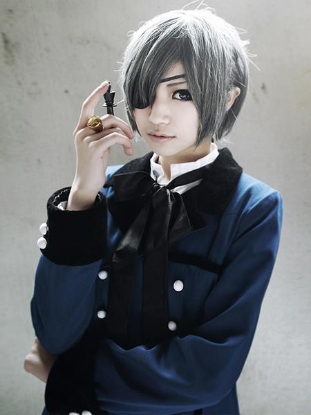 Black butler kuroshitsuji ciel phantomhive halloween cosplay costume
