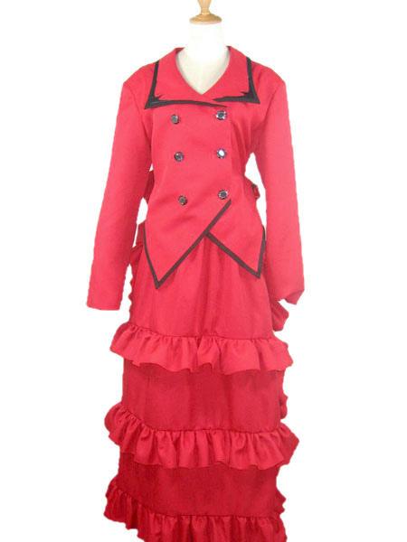 Madameredd Review Kiss Brush On Gel Nail Kit: Black Butler Madam Red Angelina Dalles Cosplay Costume