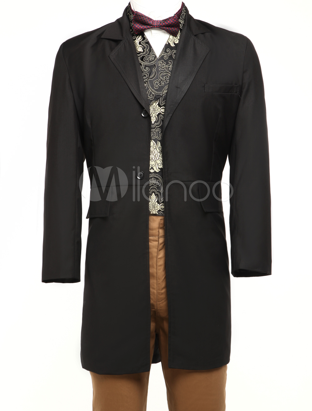 Full Length Jazz Cloth Mens Steampunk Swallowtail Coat $74.99 AT vintagedancer.com