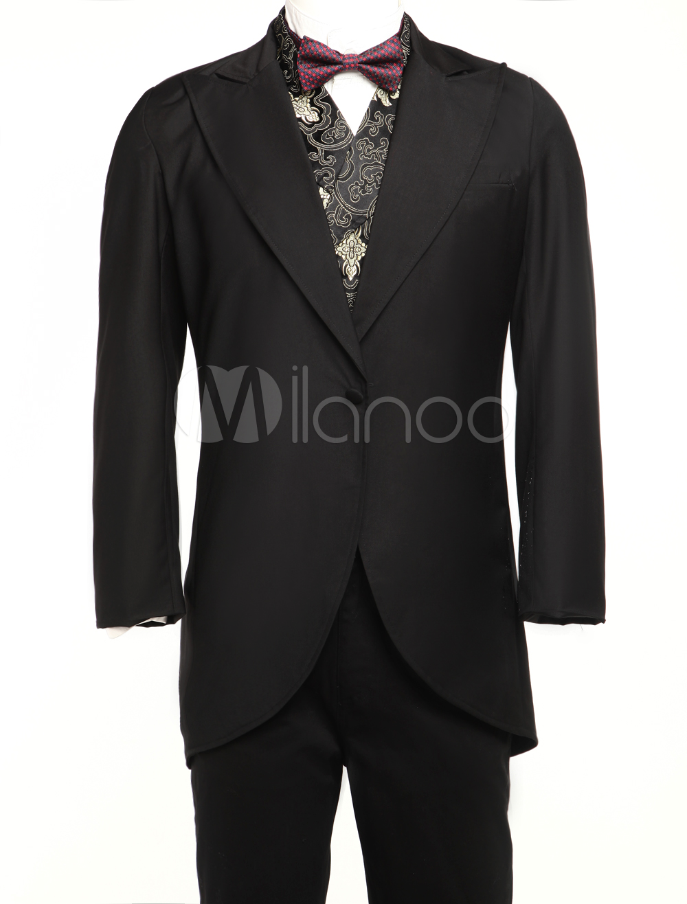 Jazz Cloth Mens Full Length Steampunk Corner Cutting Coat $74.99 AT vintagedancer.com